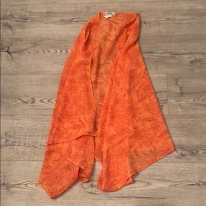 Orange Tommy Bahama Wrap